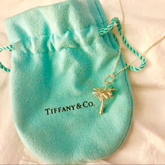 0645ea06b Tiffany & Co. Jewelry | Tiffany Co Palm Tree Necklace | Poshmark